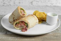 Wrap con Salami & Jamón de Cerdo