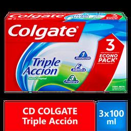 CD COLGATE TrAcc 3x100ml