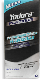 Desodorante Yodora Platinum