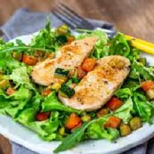 Ensalada de Pollo y Vegetales
