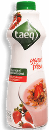 Yogurt Light Sabor Fresa Garrafa Taeq