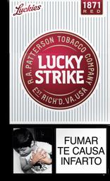 Cigarrillos Red Lucky Strike 10UN