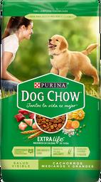 Comida para perro Dog Chow Cachorro medianos y grandes x 4 kg