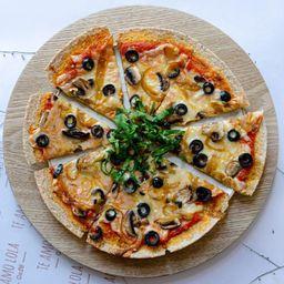 Pizzeta vegana lola
