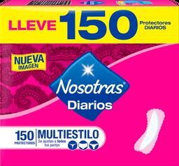 Nosotras Protectores Diarios Multiestilo