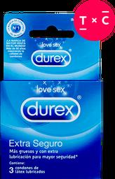 Durex Extra Seguro x 3