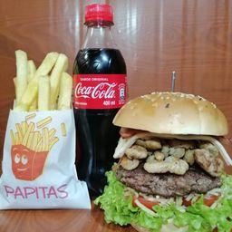 Combo Burger Mix Papas