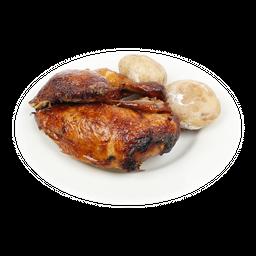Pollo Asado Medio- 1 Acomp
