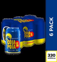 Refajo Cola & Pola - Lata 330ml x6