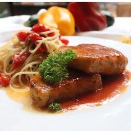 Fileto di maiale in salsa di higos