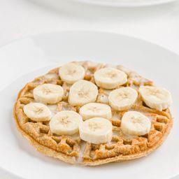 Waffle Fit con Banano