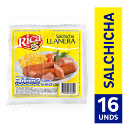 Salchicha Llanera Rica Rica Rondo