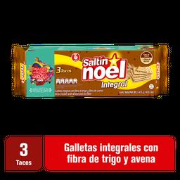 Saltín Noel Galleta  Doble Fibra Integral