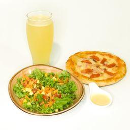 Combo Ensalada y Pizza