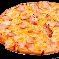 Pizza de Mozzarella y tocineta 8 porciones