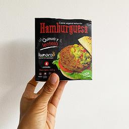 Hamburguesa Quinoa y Lentejas