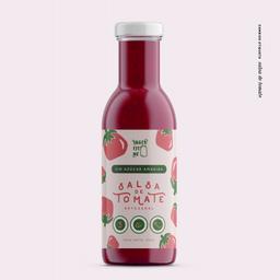 Salsa de tomate sin azúcar