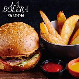 Burger de Cordero