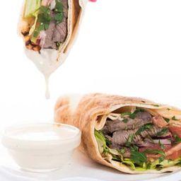Sandwich Shawarma al-laban