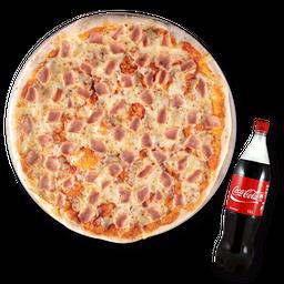 Pizza Jamón con Queso (XL)