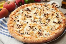 Pizza Pollo con Champiñones (M)
