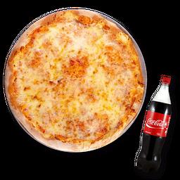 Pizza de Queso (M)