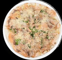Pizza Carpaccio Salmón
