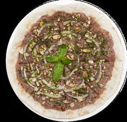 Pizza de Quibbe Crudo