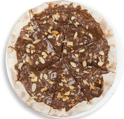 Pizza de Nutella y Nueces