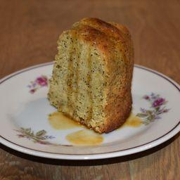 Porción Torta Naranja y Amapola