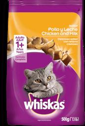 Alimento Whiskas Pollo y Leche Adulto