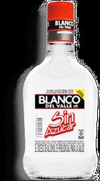 Aguardiente Sin Azucar Blanco Del Valle 375ML