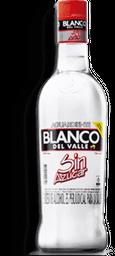 Aguardiente Blanco Blanco Del Valle 750ML