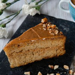 Torta de Vainilla con Arequipe