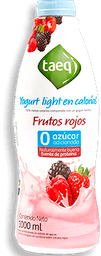 Yogurt Light Sab Frutos Rojos Taeq