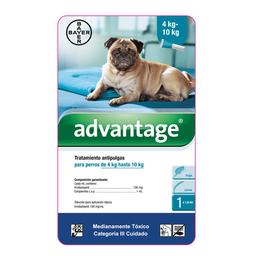 Advantage perros pipeta 1 ml (de 4 a 10 kg)