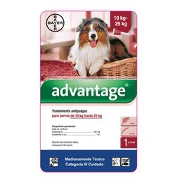 Advantage perros pipeta 2.5 ml (de 10 a 25 kg)