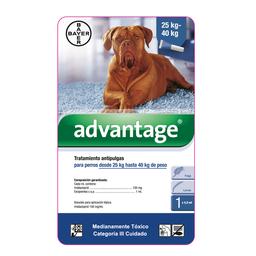 Advantage perros pipeta 4 ml (de 25 y mas kg)
