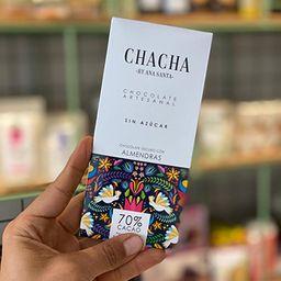 Chocolate Chacha Almendras