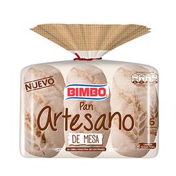 Pan Artesano Bimbo De Mesa