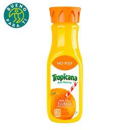 Jugo De Naranja Tropicana Sin Pulpa 354mL