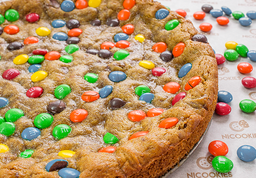 Cookie Cake m&m´s