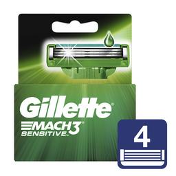Repuestos Para Afeitar Gillette Sensitive Mach3 4 Und