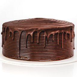 Porción trufa doble chocolate