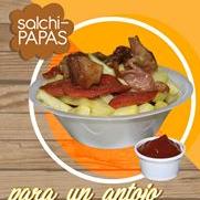 Salchipapas