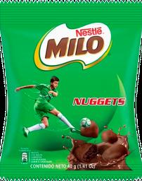 Milo Trozos Con Malta Cubiertos Sabor a Chocolate Nuggets