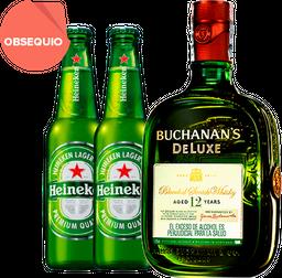 Rappicombo Buchanans + 2 Heineken