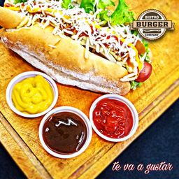 Hot Dog con Vegetales