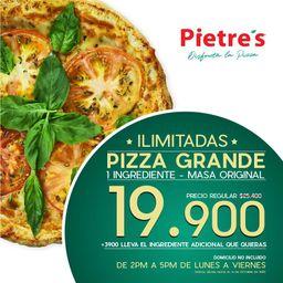 1 pizza grande - premium!