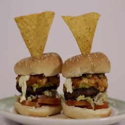 Dúo de  hamburguesas (mexiduo)
